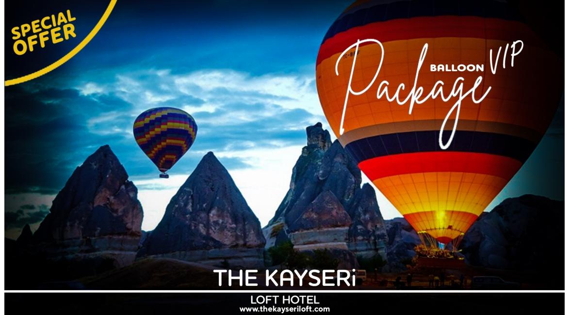 Özel Fırsat VIP Kapadokya Balon Odası